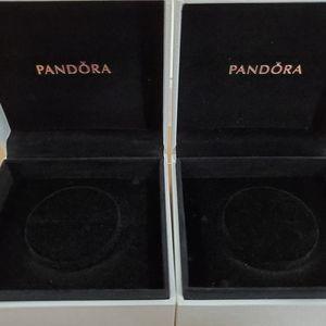 2 Empty Pandora Bracelet boxes New Unused